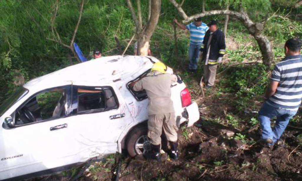 Accidente registrado en Olancho