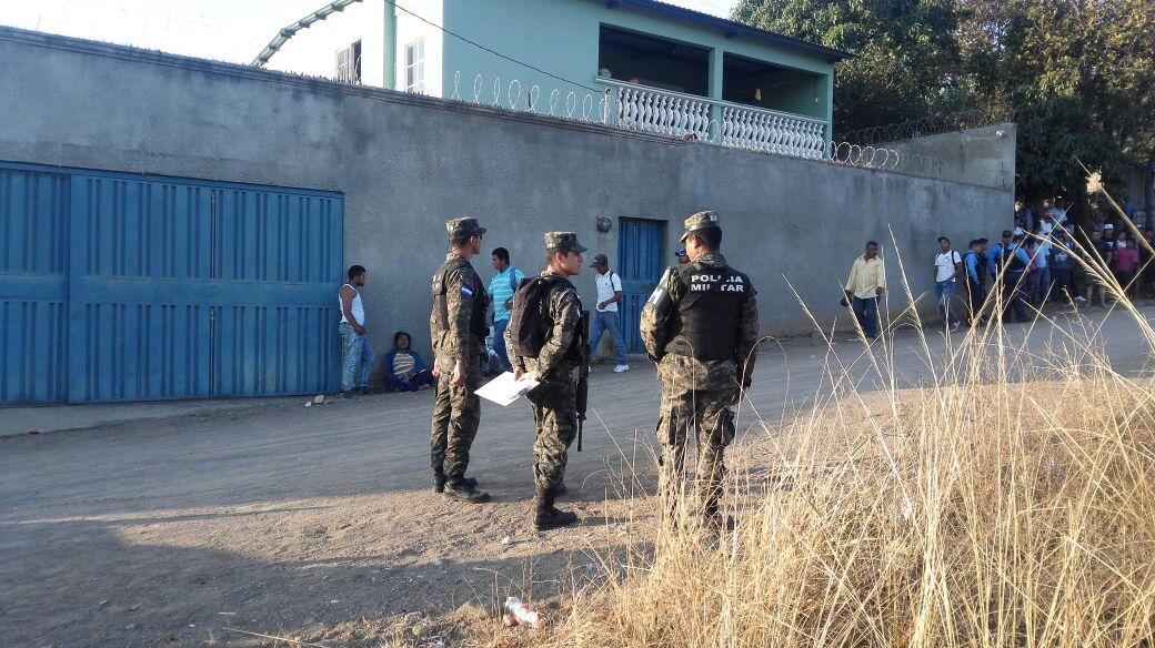 madre e hijo decapitados en Comayagüela