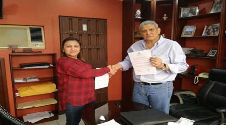 Marlene Alvarenga y Esdras López, forman Coalición Parlamentaria de Oposición