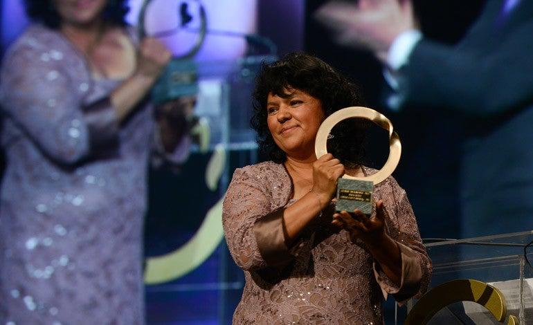 Premio Goldman al Medio Ambiente fue el Nobel Verde para Berta Cáceres