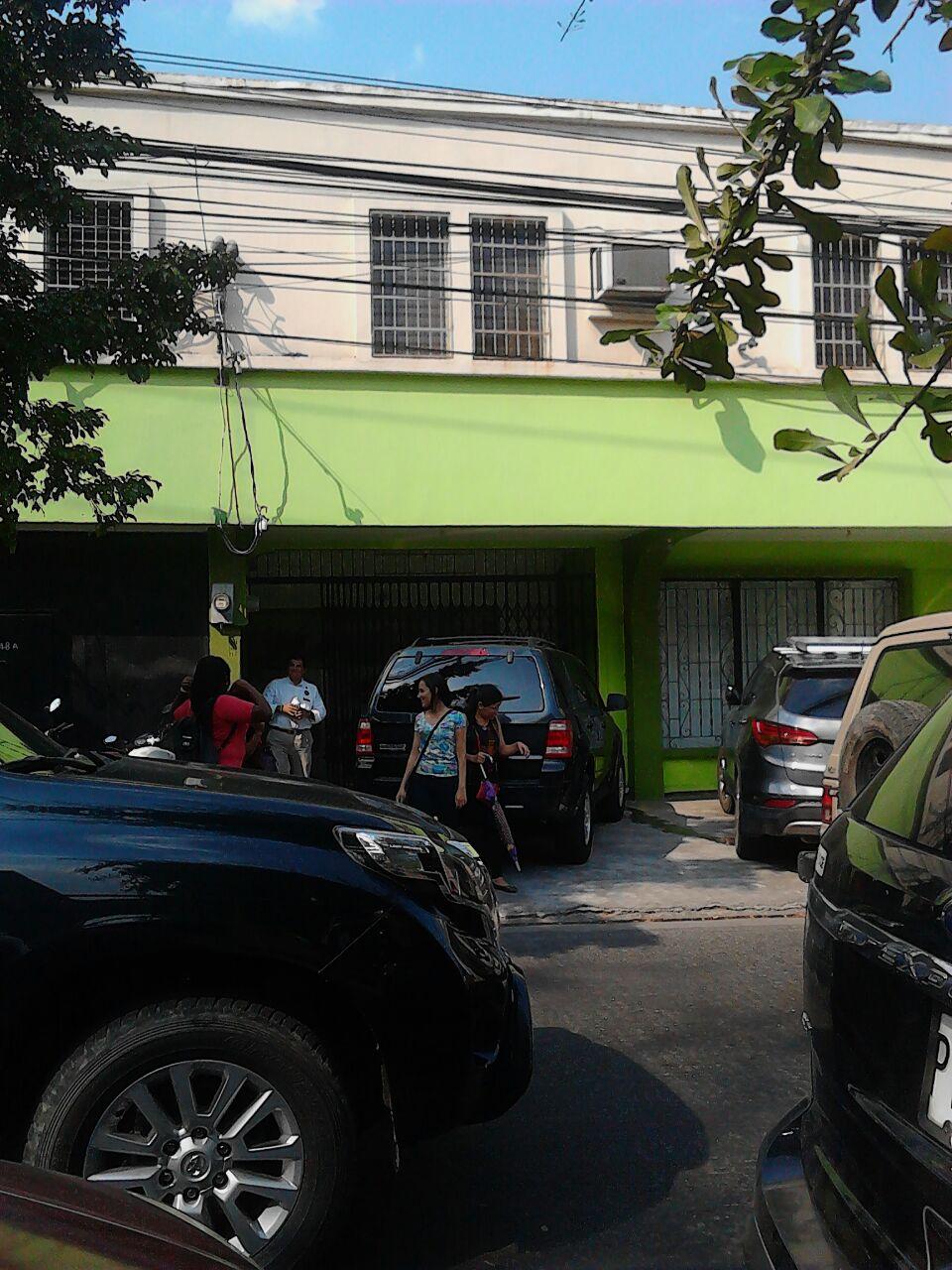 Las instalaciones de Herbalife en Barrio Guamilito; sin ninguna señalización de la compañía.