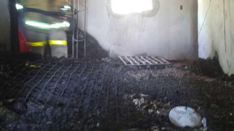 Incendio deja sin vivienda a familia en Comayagua