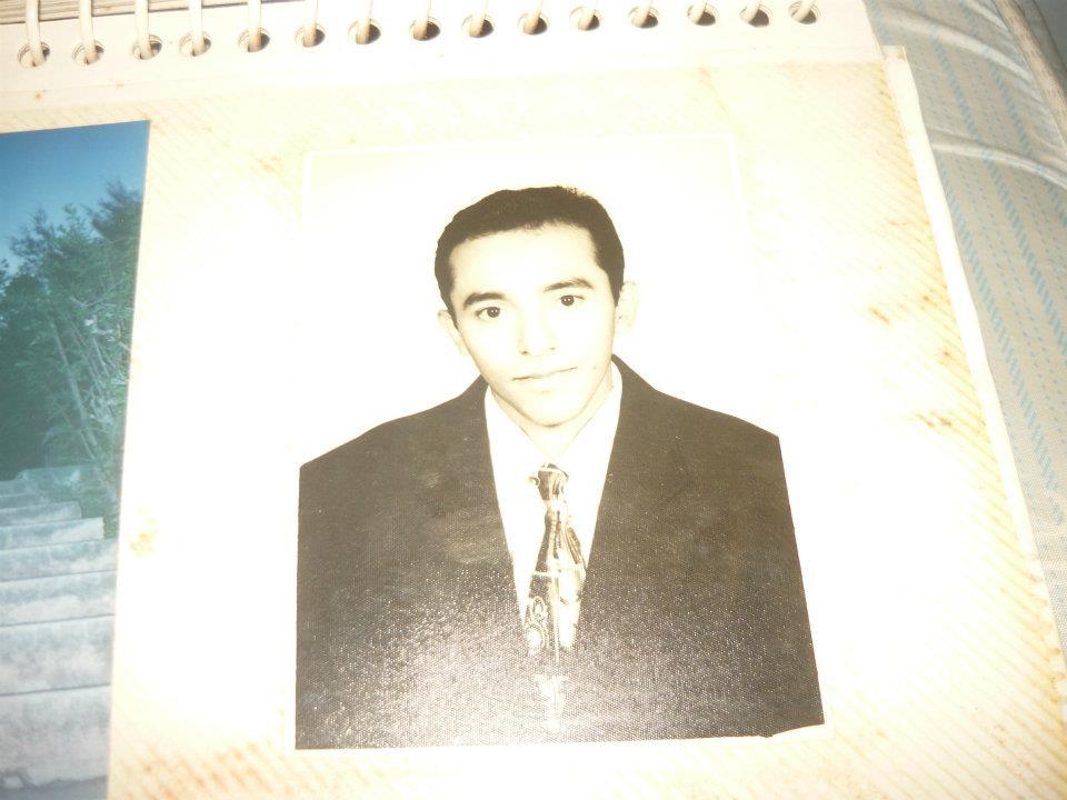Justo Aguilar se graduó de psicólogo hace poco tiempo. Daba consultas para niños.
