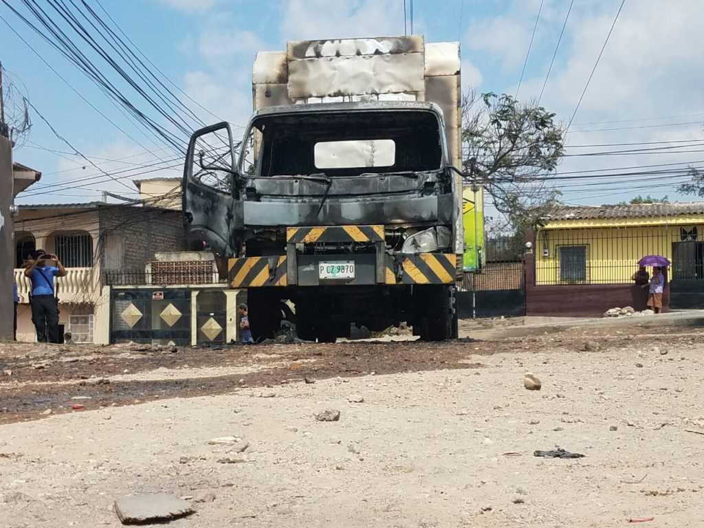 Siguen sufriendo atentados criminales las empresas vendedoras de lácteos en Honduras