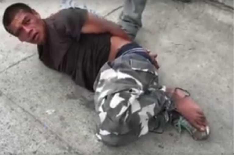 Comayagua: Pobladores le propinan tremenda paliza a presunto ladrón