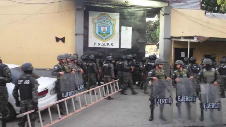 Ejecutan quinto operativo en Centro Penal de San Pedro Sula