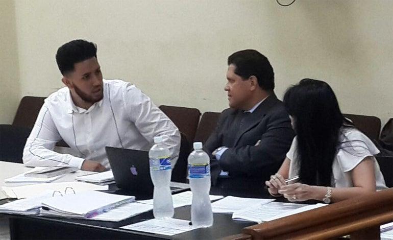 Durante el juicio de Kevin Solórzano