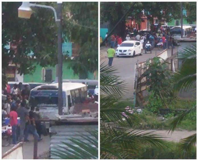 tirotean pasajero en bus de Choloma