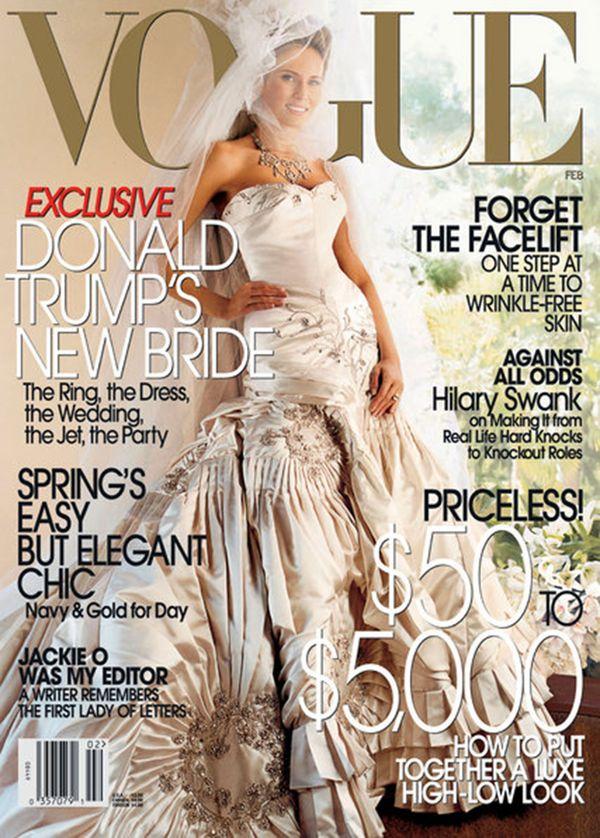 Estalló la guerra entre la revista Vogue y Donald Trump