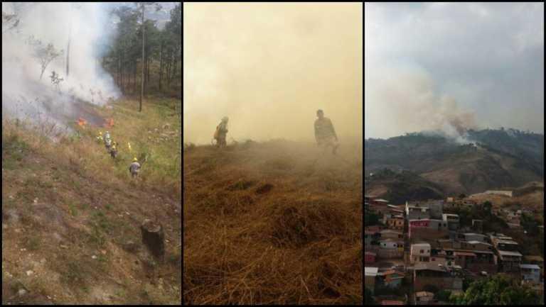 Emergencia en el Hatillo: incendio es incontrolable hasta el momento