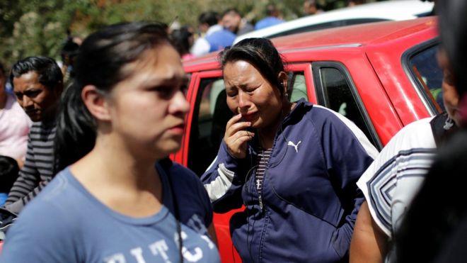 El centro de acogida se encuentra a 25 kilómetros de la capital guatemalteca.