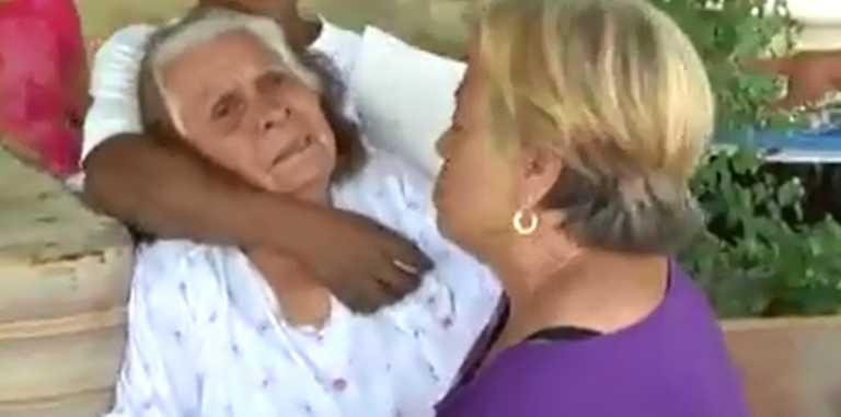 ¡DESALMADO! Mal Hijo desaloja de casa a su madre de 80 años