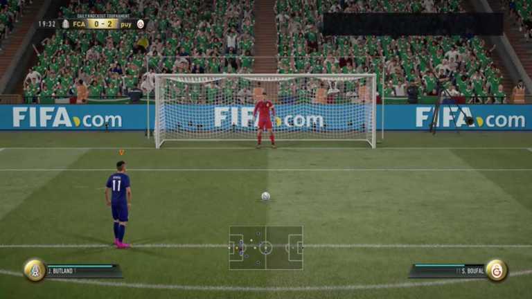 El extraño y viral penalti de FIFA 17 que tiene a todos intrigados
