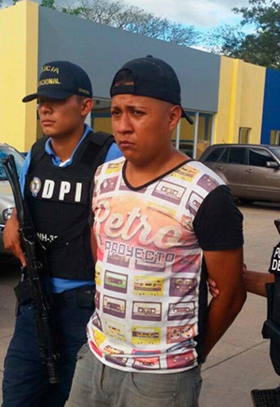 Tegucigalpa: Capturan a supuesto sicario y miembro de la pandilla 18