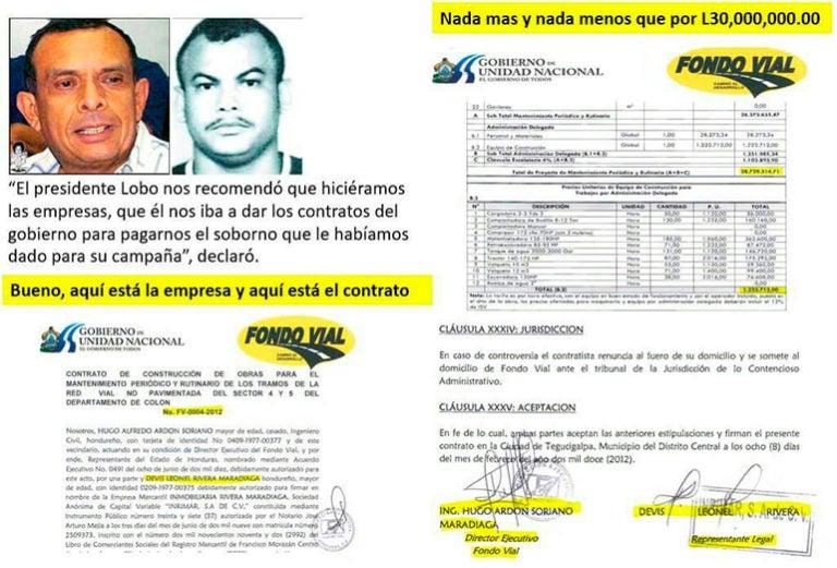 contratos logrados por Los Cachiros.