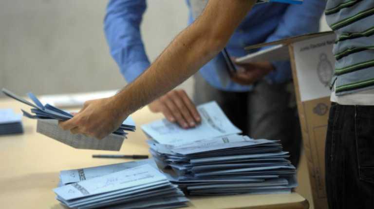 TSE realizó escrutinio en las actas del partido LIBRE
