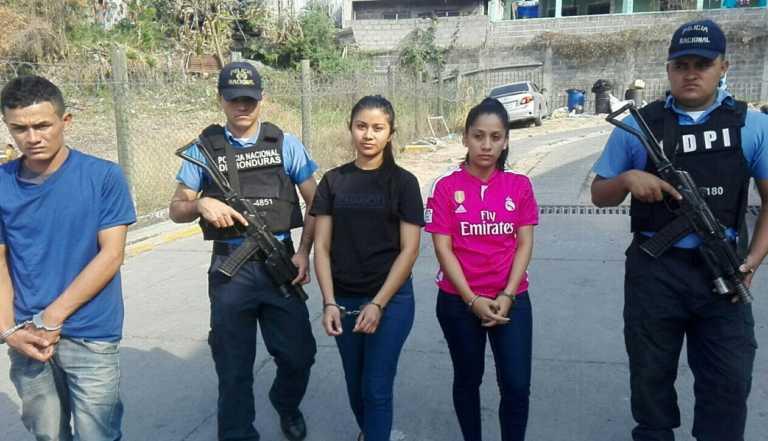 DPI da captura a supuestos miembros de la MS en Tegucigalpa