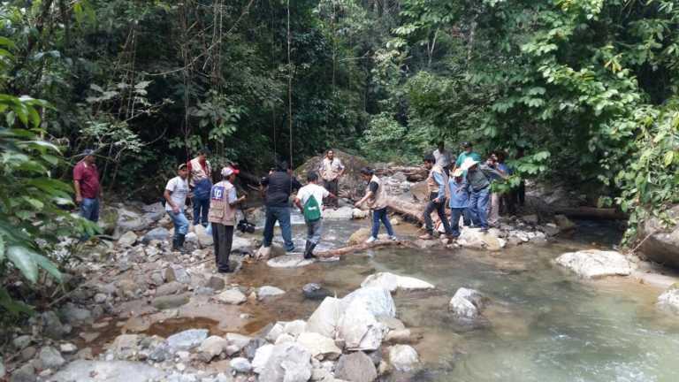 Atlántida: Proyecto hidroeléctrico Los Planes es inspeccionado por daños a comunidades