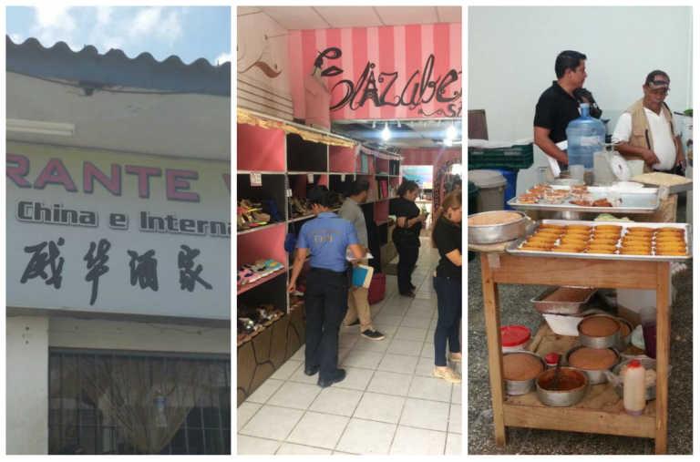 """Operación """"Garfio"""": Cierran restaurantes por insalubridad y decomisan productos"""