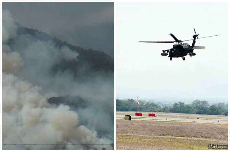 Decretan Emergencia Municipal tras incendio forestal en Parque Nacional Celaque