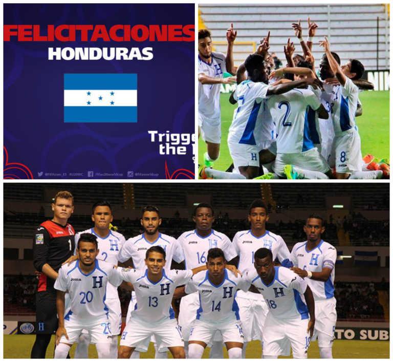 ¡Sub-20 de Honduras se llena de elogios por la clasificación al Mundial de Corea!
