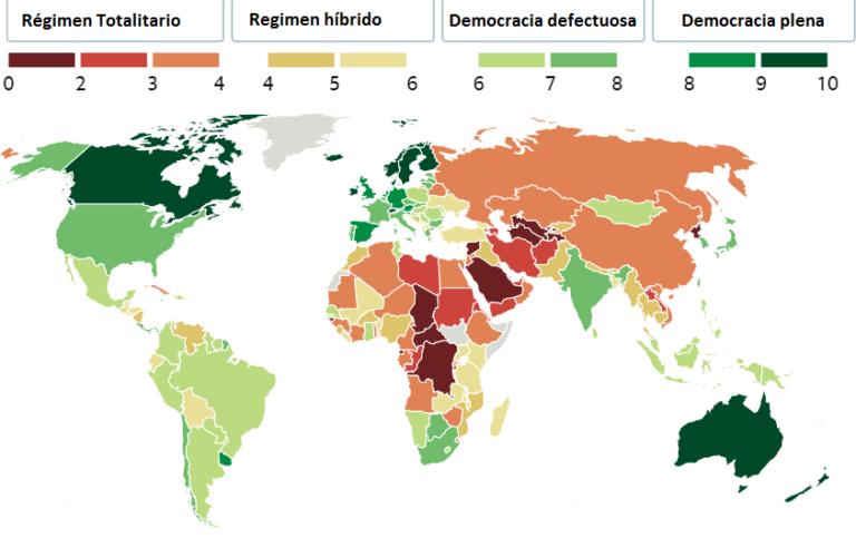 Honduras, un país con poca democracia, según informe británico