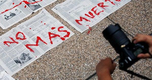 periodistas en México