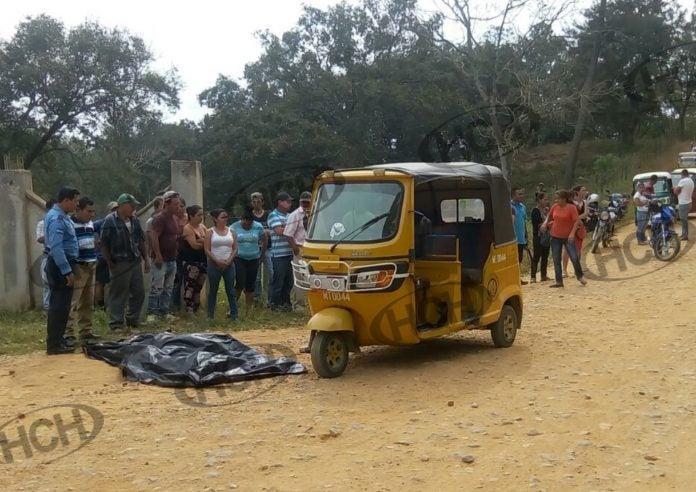 Matan a conductor de mototaxi en Pinalejo, Santa Bárbara