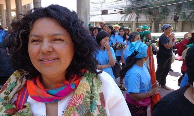 Berta Cáceres, ambientalista asesinada en Honduras