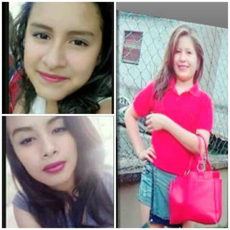 Familiares reportan desaparecidas a tres menores en Santa Bárbara