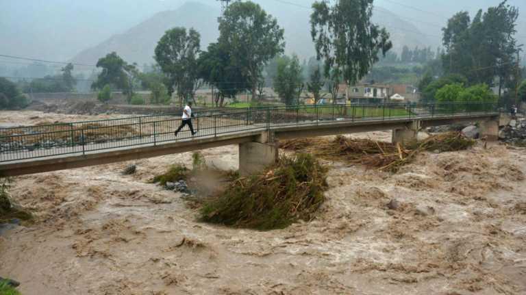 Desastre natural deja 62 muertos y más de 56 mil damnificados en Perú