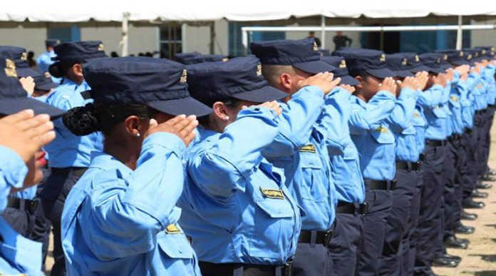 La adhesión de varios policías
