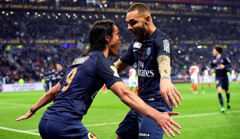 PSG goleó 4-1 al Mónaco y se corona Campeón de la Copa de Liga en Francia
