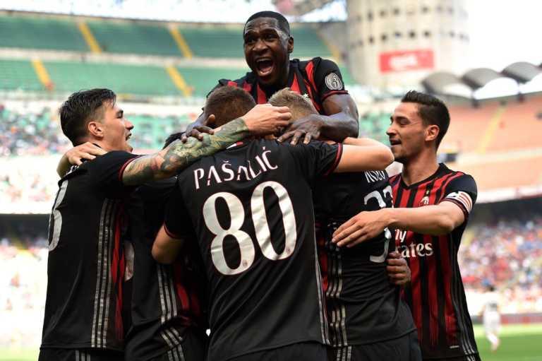 """Goleada """"Rossonera"""", Milán venció a Palermo en la Serie A"""