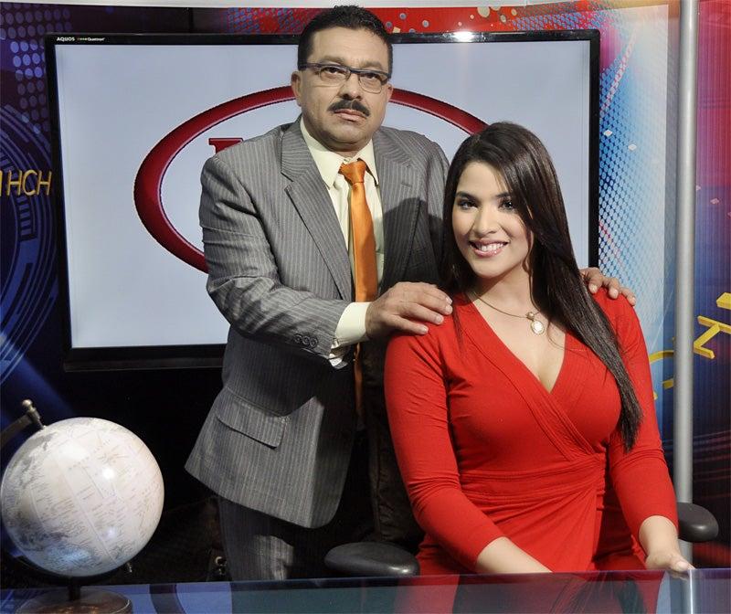 """Es importante mencionar que Lanza trabajó por unos años en Televicentro, exactamente en el programa """"XO da dinero"""", que dirige Salvador Nasralla"""