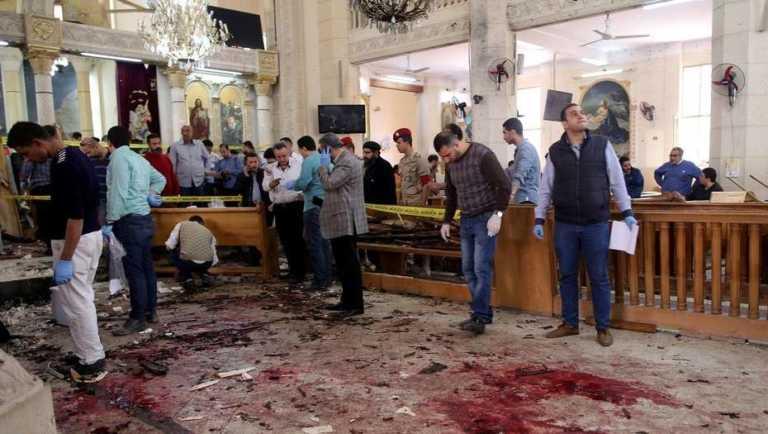 VIDEO | Egipto: Al menos 37 muertos en un doble atentado contra iglesias