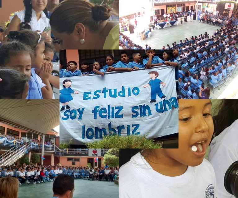 Honduras: Salud Inicia jornada nacional de desparasitación a escolares