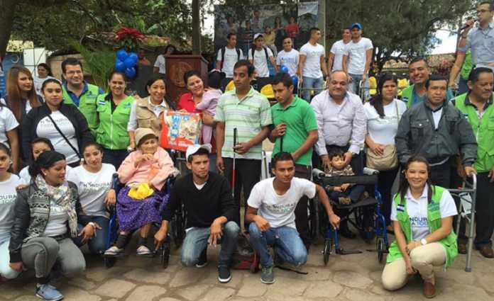 Personas con discapacidad en Honduras