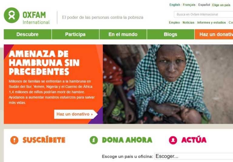 Opinión de Elsia Paz: A Oxfam se le acabó la fiesta en Honduras y las razones son espantosas