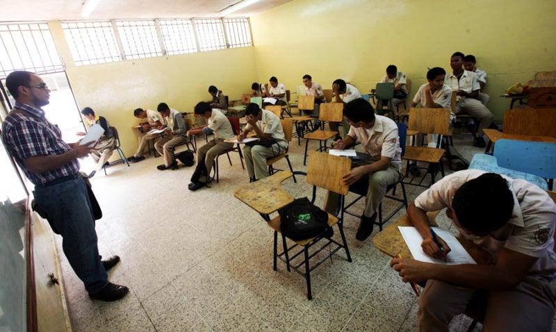 evaluación para el sistema de educación hondureño