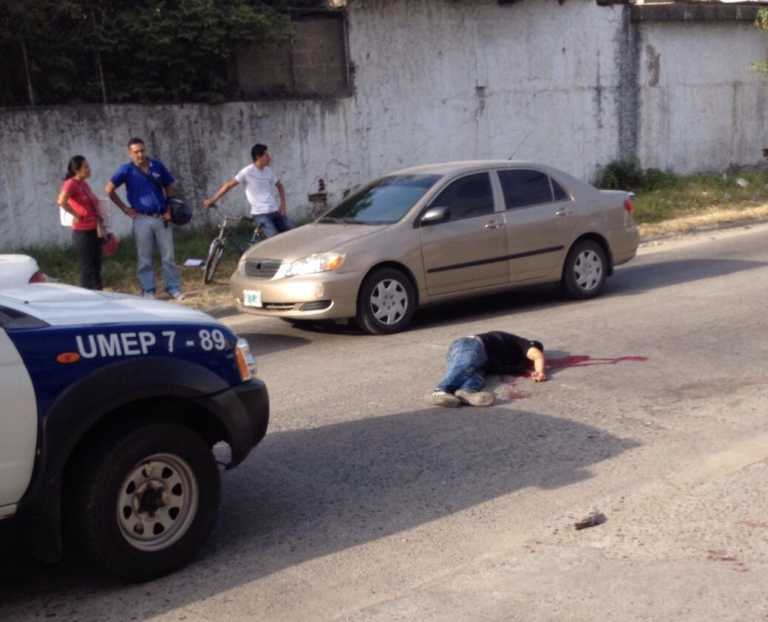 Guardia de seguridad mata asaltante en San Pedro Sula