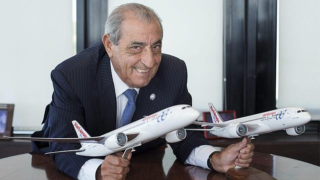 Juan José Hidalgo, presidente de Air Europa.
