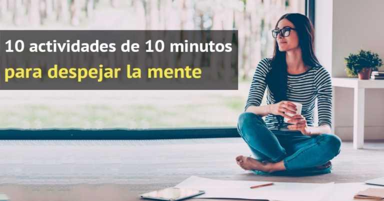 Practicar una de estas actividades 10 minutos al día te ayudará a relajar tu mente