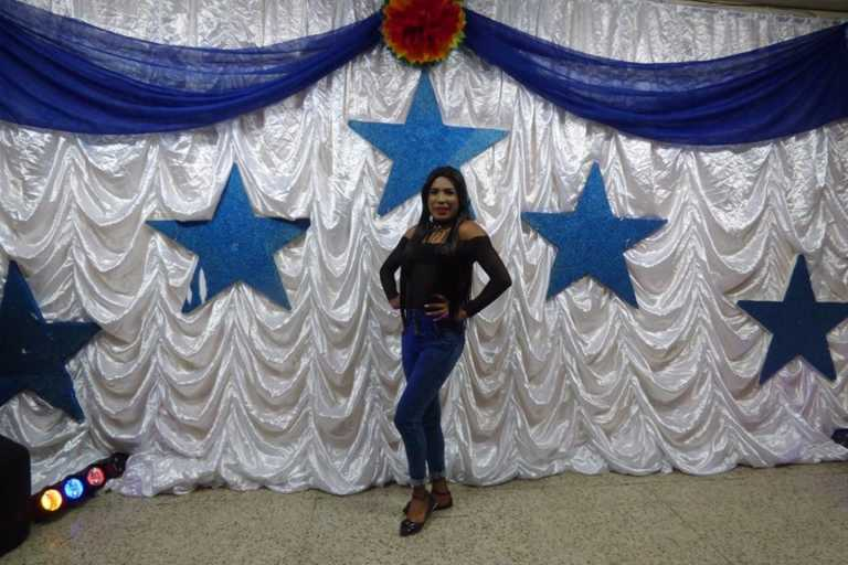 """""""La Diva""""a la que le apagaron sus sueños este día en la capital hondureña"""