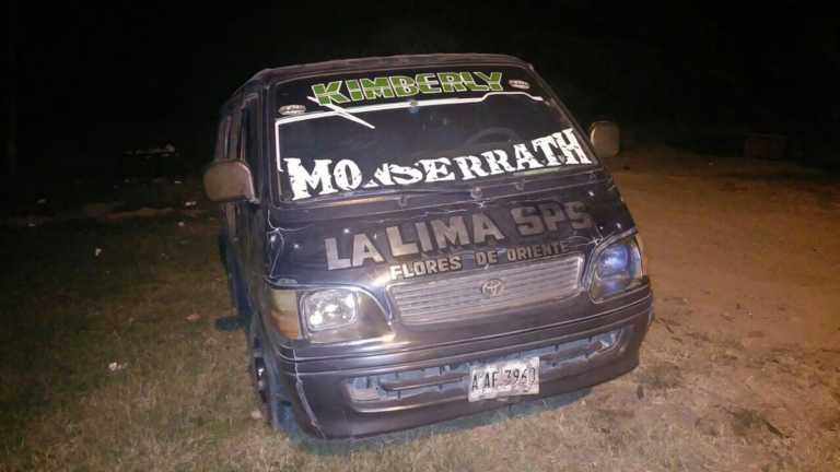 """Matan a conductor de """"rapidito"""" en La Lima, Cortés"""