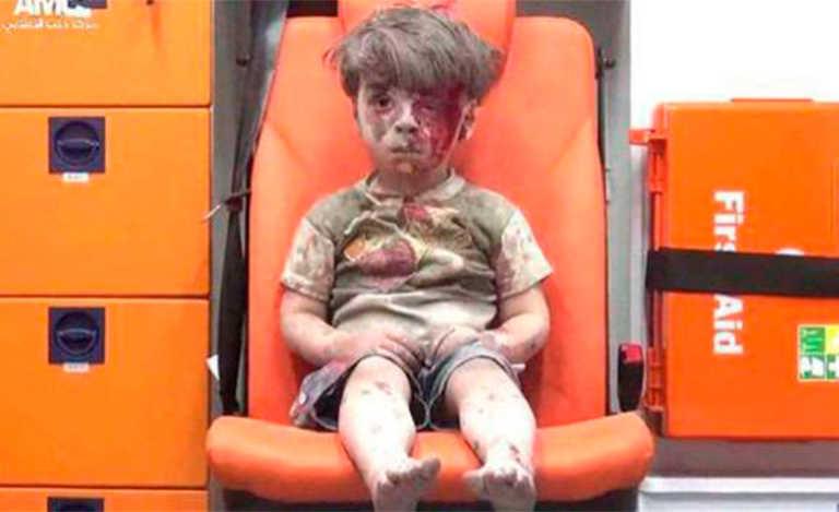 ¿Qué fue del niño símbolo de la guerra en Siria?