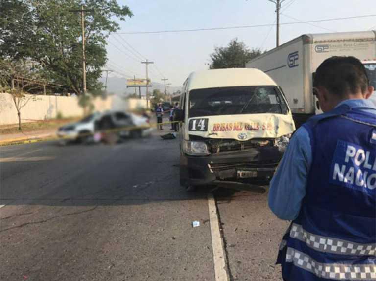 Colisión entre «rapidito» y turismo deja un muerto y dos heridos en SPS