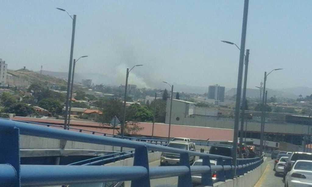 Varias personas salieron afectada, pero por el humo