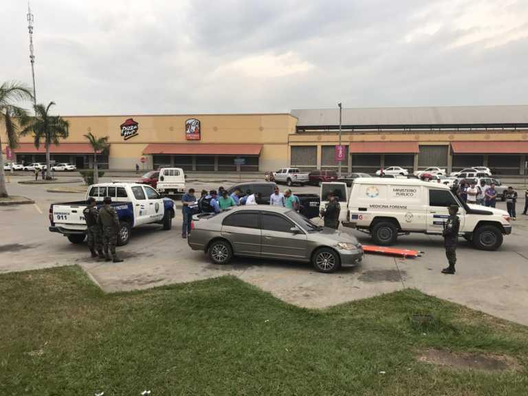 Hallan pareja muerta dentro de un carro frente a la Terminal de SPS