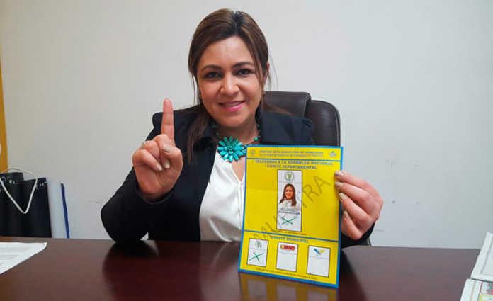 Marlene Alvarenga celebra elecciones internas